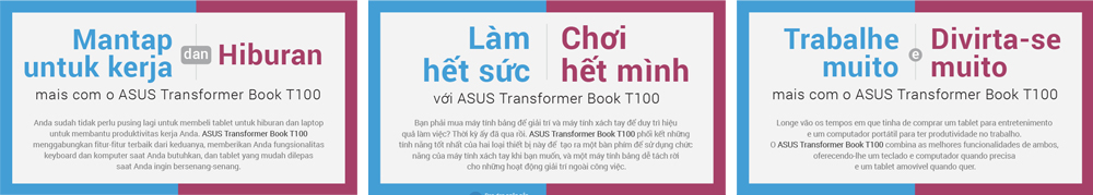 ASUS: Work Hard, Play Hard title translations