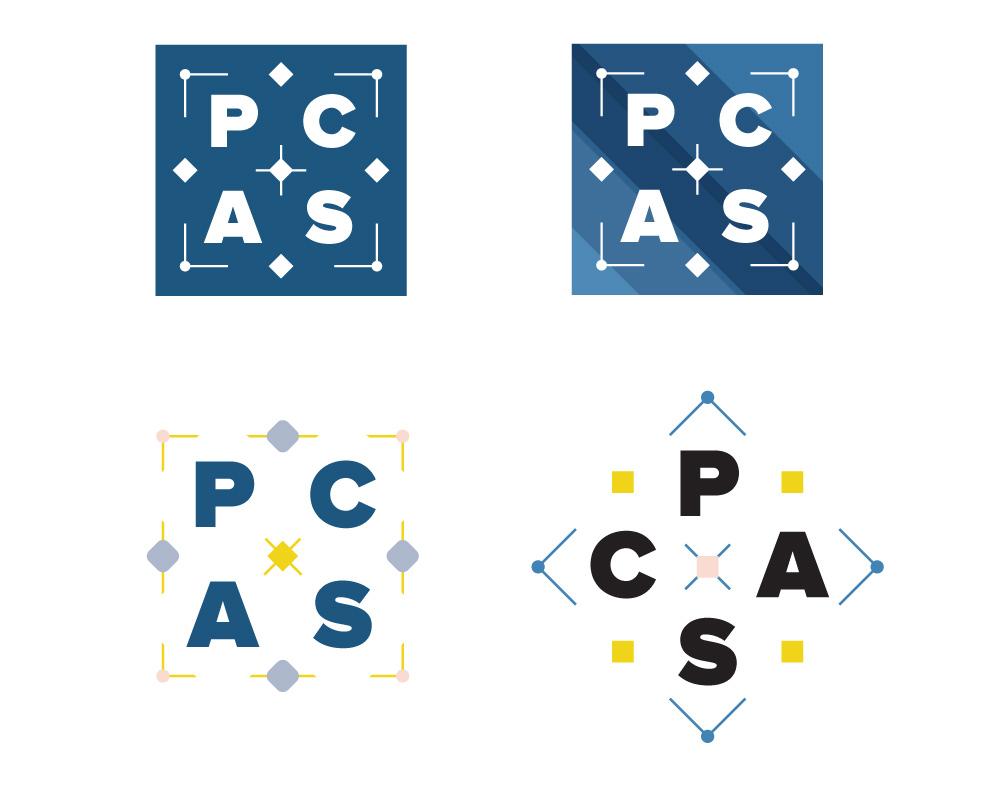 PCAS: Concept alt logos