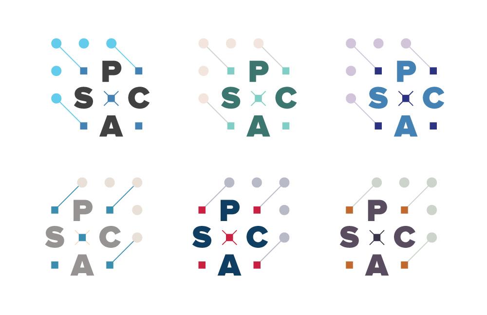 PCAS: Final logo variations