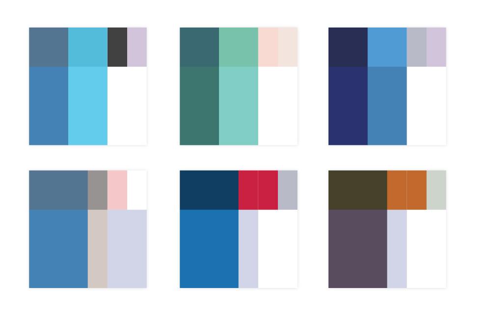 PCAS: Final colors