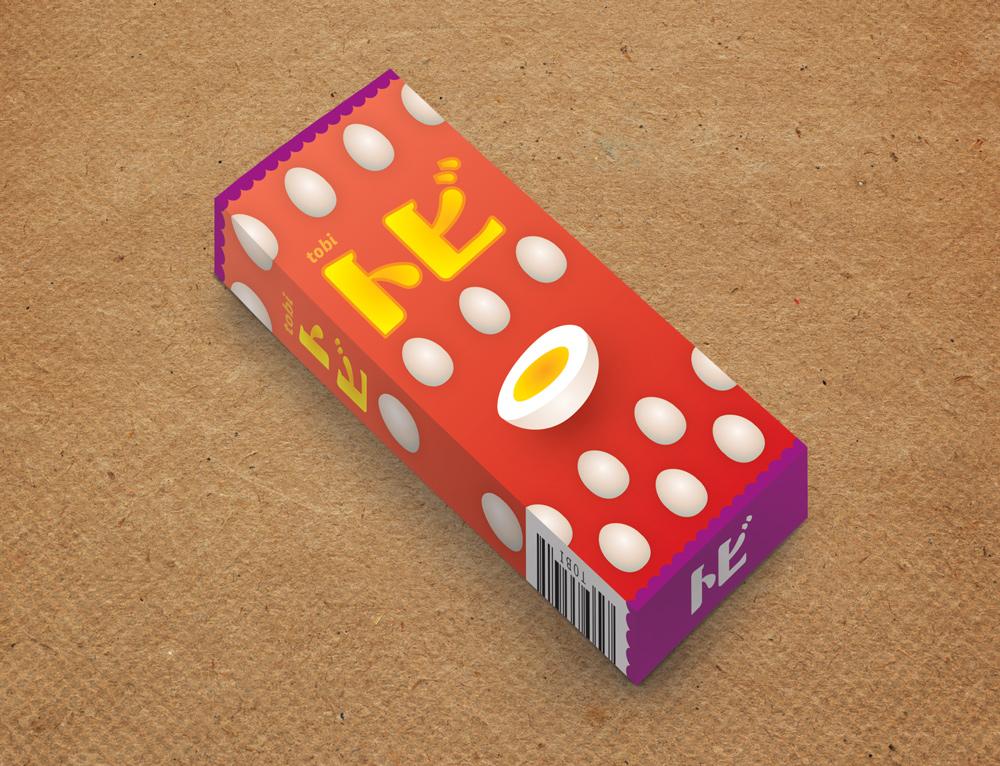 トビ chocolate packaging design
