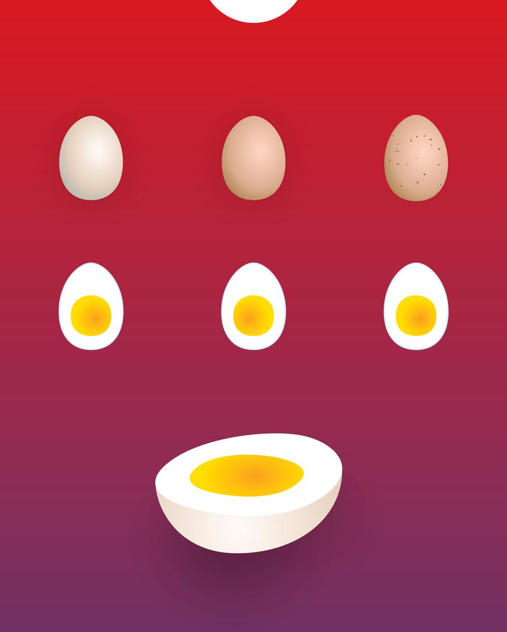 トビ chocolate eggs