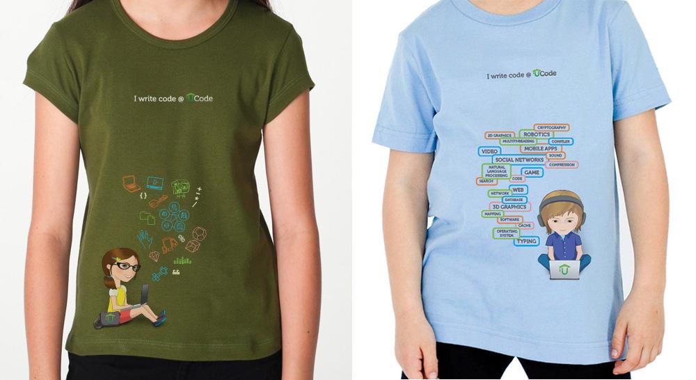 UCode t-shirts