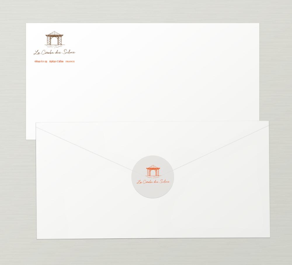 La Combe des Selves: Envelopes