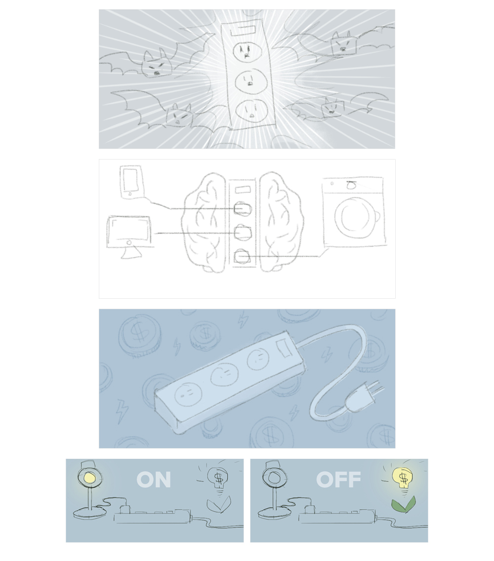 Sunrun: Smart Socket sketches