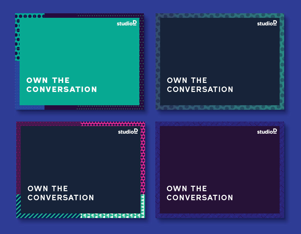 studioD: lookbook covers