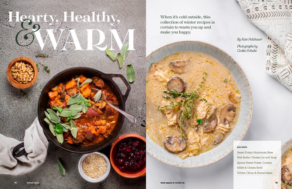 Winter recipes: Opener spread