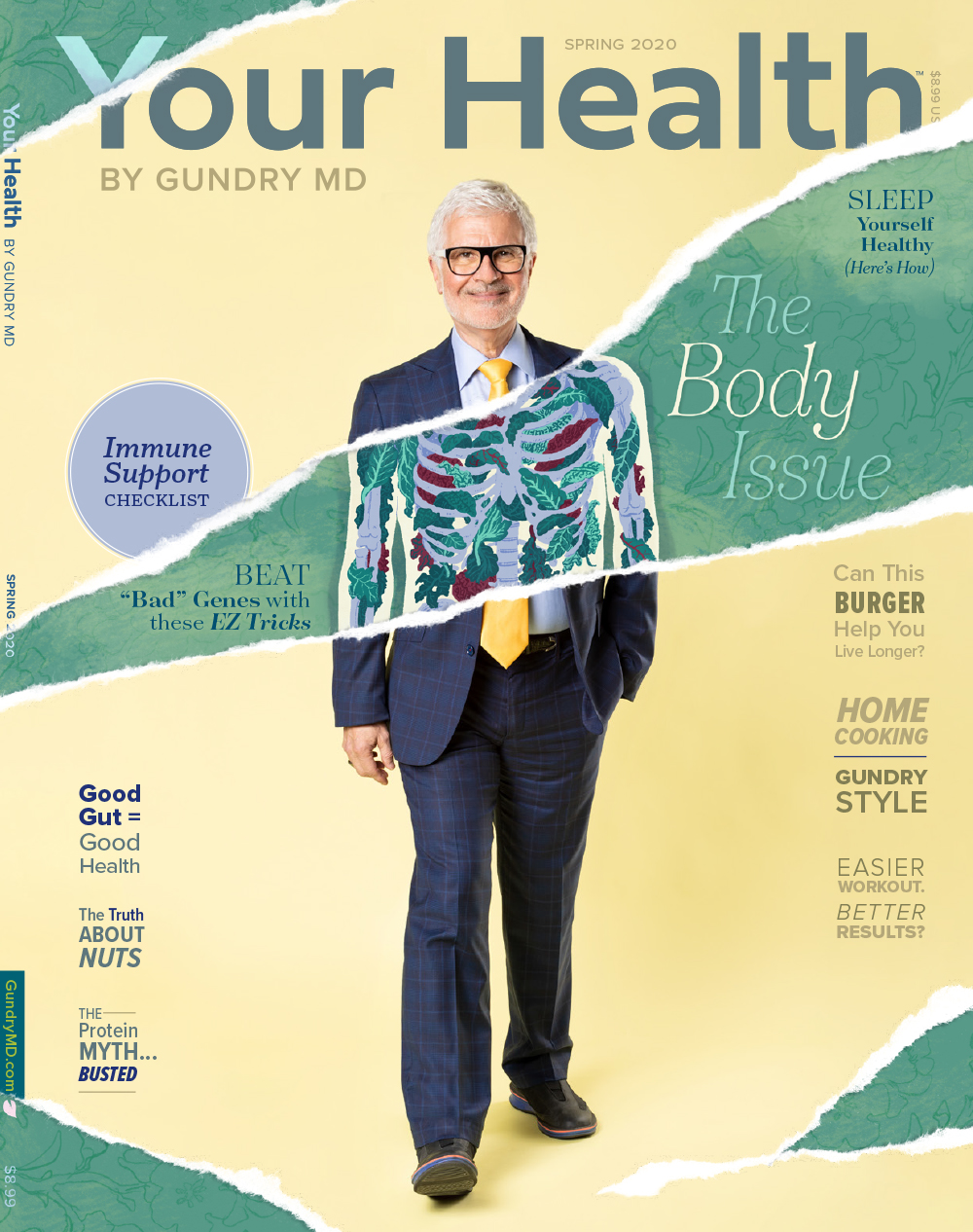 The Body Issue: Cover design