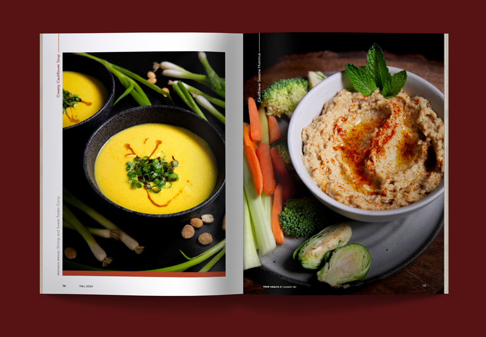 Fall Flavors: Soup and hummus recipes