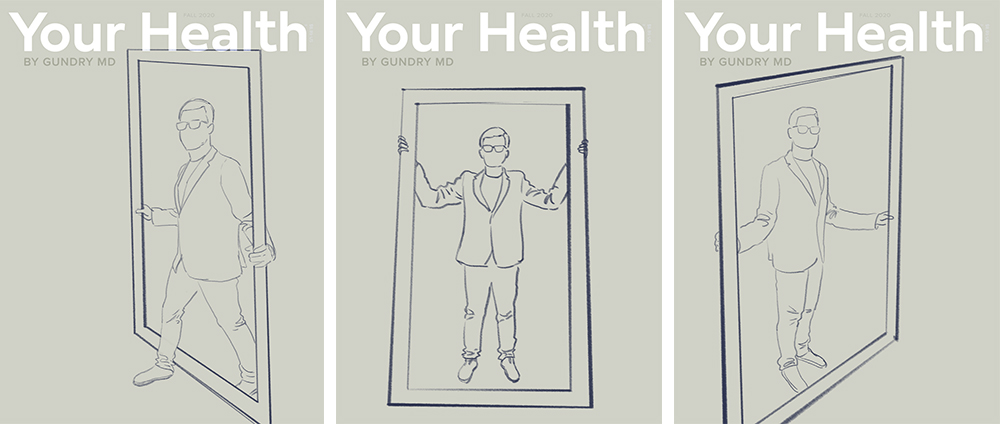 Your Health: Issue 7 initial sketches